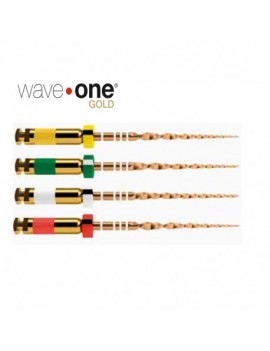 Wave One Gold File Medium 6pz.
